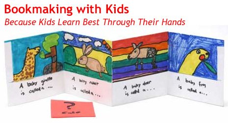 bookmaking with kids
