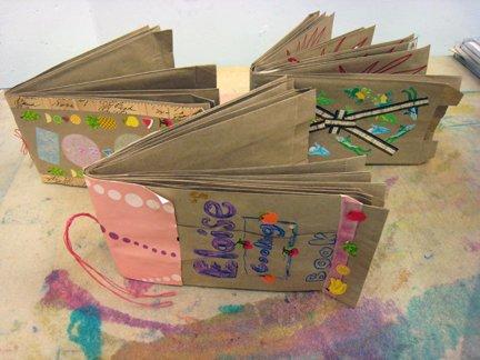 create a book report in a bag