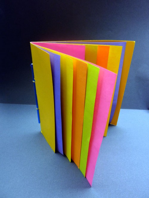 Book structures bookmaking with kids page 11 for How to make a book for a project
