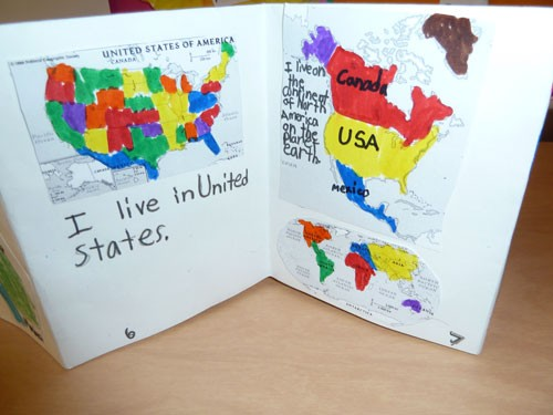 Geography Bookmaking With Kids