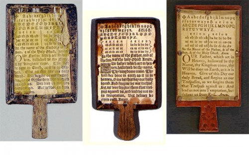 Making A Replica Hornbook I Bookmaking With Kids