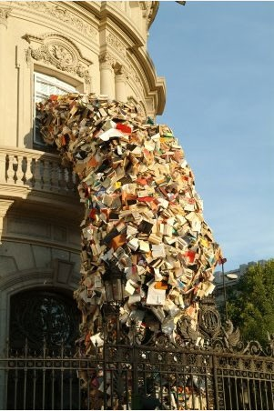 Image result for throwing out books