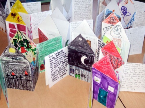 Haunted House Books – Bookmaking With Kids