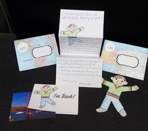 Templates For A Flat Stanley Mailing Kit  Bookmaking With Kids