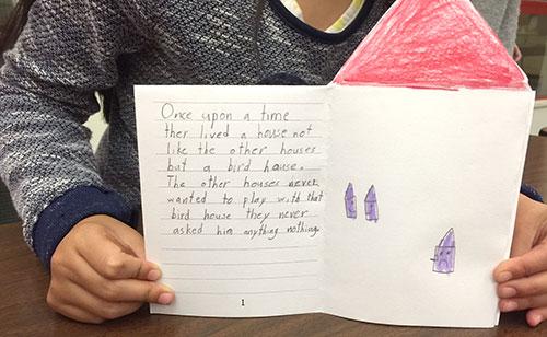 Kindergarten Bookmaking With Kids