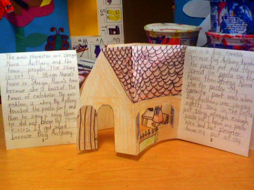 libraries bookmaking with kids